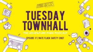 Tuesday townhall podcast Fun spot manufacturing adventure park trampoline park